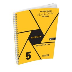 Hız Yayınları - Hız Yayınları 5. Sınıf Matematik Etkinlik Defteri