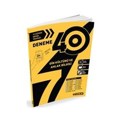 Hız Yayınları - Hız Yayınları 7. Sınıf Din Kültürü ve Ahlak Bilgisi 40'lı Deneme