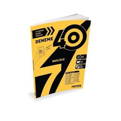 Hız Yayınları - Hız Yayınları 7. Sınıf İngilizce 40'lı Deneme