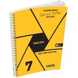 Hız Yayınları - Hız Yayınları 7. Sınıf İngilizce Etkinlik Defteri