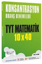 Hocalara Geldik - Hocalara Geldik TYT Matematik Konsantrasyon 10×40 Branş Denemeleri