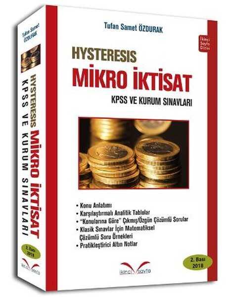 İkinci Sayfa HYSTERESIS Mikro İktisat