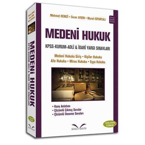 İkinci Sayfa Yayınları Medeni Hukuk (Yenilenmiş 5.Basım)