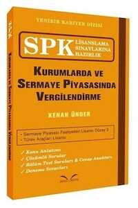 İkinci Sayfa Yayınları SPK Kurumlarda ve Sermaye Piyasasında Vergilendirme