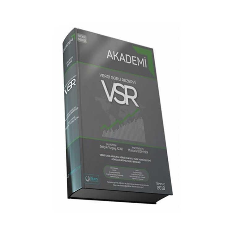 İlken Yayınları VSR Vergi Soru Rezervi Konu Anlatımlı Soru Bankası