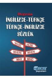 Oscar Yayınları - İlköğretim Karton Kapak İngilizce-Türkçe Türkçe-İngilizce Sözlük Oscar Yayınları