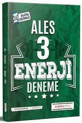 İndeks Kitap - İndeks Kitap 2020 ALES Enerji Çözümlü 3 Deneme