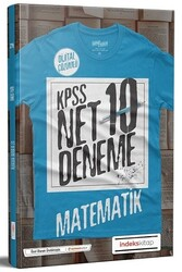 İndeks Kitap - İndeks Kitap 2020 KPSS Matematik Net Çözümlü 10 Deneme