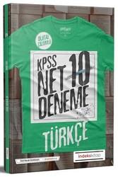 İndeks Kitap - İndeks Kitap 2020 KPSS Türkçe Net Çözümlü 10 Deneme