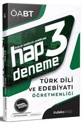 İndeks Kitap - İndeks Kitap 2020 ÖABT Türk Dili ve Edebiyatı Öğretmenliği Hap Çözümlü 3 Deneme