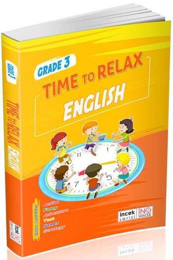 İnovasyon Yayıncılık 3. Sınıf Time To Relax English