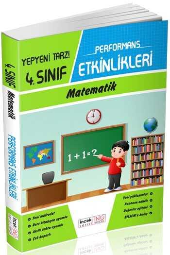 İnovasyon Yayıncılık 4. Sınıf Matematik Performans Etkinlikleri