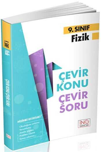 İnovasyon Yayıncılık 9. Sınıf Fizik Çevir Konu Çevir Soru