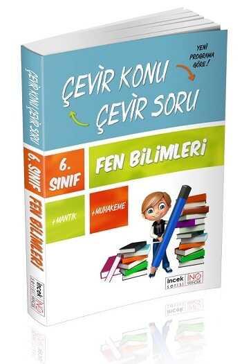 İnovasyon Yayınları 6. Sınıf Fen Bilimleri Çevir Konu Çevir Soru