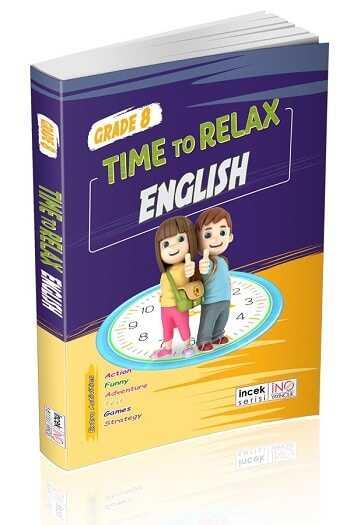 İnovasyon Yayınları 8. Sınıf Time To Relax English
