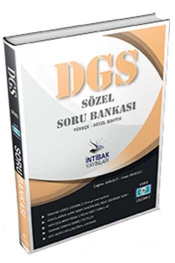 İntibak Yayınları 2021 DGS Sözel Konu Özetli Soru Bankası