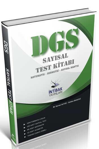 İntibak Yayınları 2021 DGS Sayısal Test Kitabı