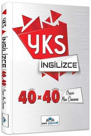 İrem Yayıncılık YKS İngilizce 40×40 Özgün Mini Denemeler
