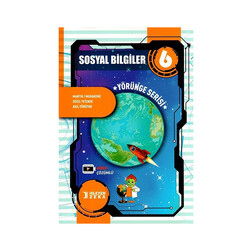 İşleyen Zeka Yayınları - İşleyen Zeka 6. Sınıf Sosyal Bilgiler Yörünge Serisi Soru Bankası