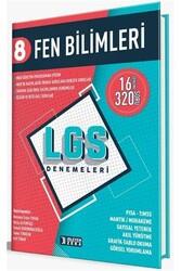 İşleyen Zeka Yayınları - İşleyen Zeka Yayınları 8. Sınıf LGS Fen Bilimleri Denemeleri