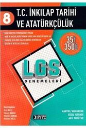 İşleyen Zeka Yayınları - İşleyen Zeka Yayınları 8. Sınıf LGS T.C. İnkılap Tarihi ve Atatürkçülük Denemeleri
