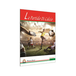 Kapadokya Yayınları - İtalyanca Hikaye La Partido Di Calcio - Kapadokya Yayınları