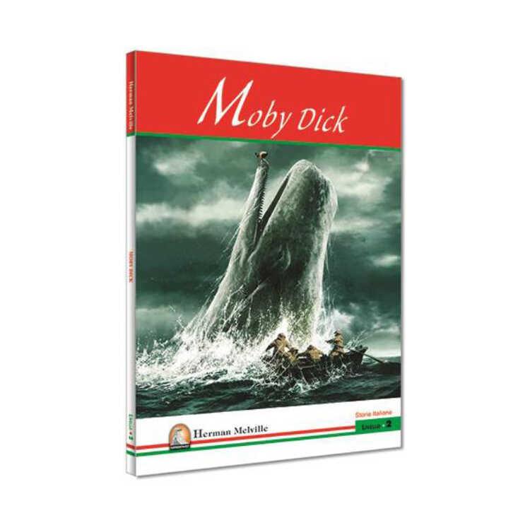 İtalyanca Hikaye Moby Dick - Kapadokya Yayınları