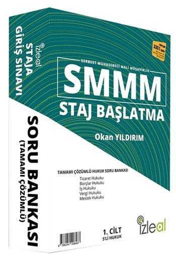 İzleal Yayınları SMMM Staj Başlatma Tamamı Çözümlü Hukuk Soru Bankası