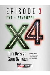 Kafa Dengi Yayınları - Kafa Dengi Yayınları TYT EA Sözel X4 Tüm Dersler Soru Bankası Episode 3