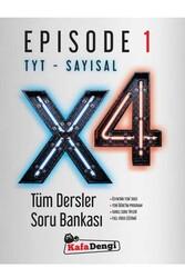 Kafa Dengi Yayınları - Kafa Dengi Yayınları TYT Sayısal X4 Tüm Dersler Soru Bankası Episode 1