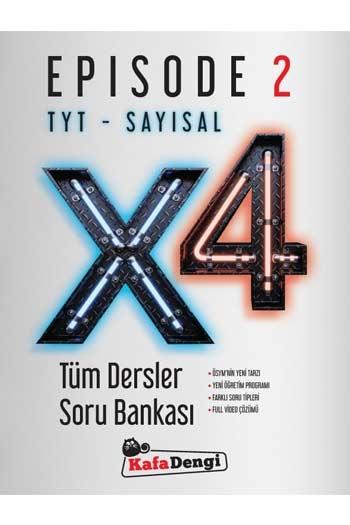 Kafa Dengi Yayınları TYT Sayısal X4 Tüm Dersler Soru Bankası Episode 2