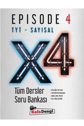 Kafa Dengi Yayınları - Kafa Dengi Yayınları TYT Sayısal X4 Tüm Dersler Soru Bankası Episode 4