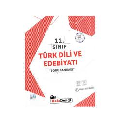 Kafa Dengi Yayınları - Kafadengi Yayınları 11. Sınıf Türk Dili ve Edebiyatı Soru Bankası