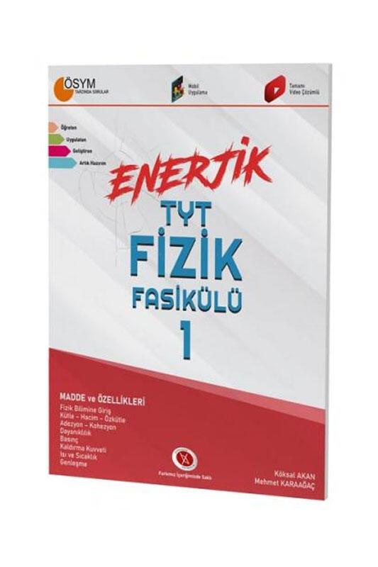 Karaağaç Yayınları Enerjik TYT Fizik Fasikülü - 1