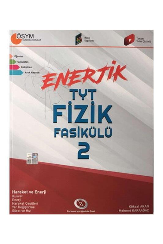 Karaağaç Yayınları Enerjik TYT Fizik Fasikülü 2