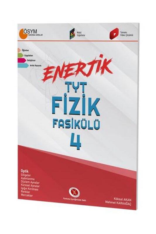 Karaağaç Yayınları Enerjik TYT Fizik Fasikülü 4