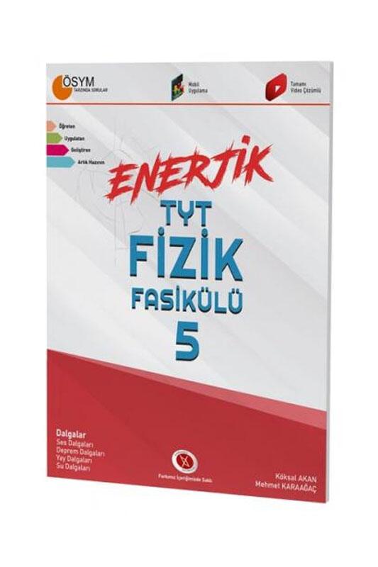 Karaağaç Yayınları Enerjik TYT Fizik Fasikülü 5