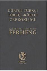 Karatay Yayınları - Karatay Yayınları Kürtçe-Türkçe Cep Sözlük