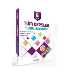 Karekök Yayınları - Karekök Yayınları 6. Sınıf Tüm Dersler Soru Bankası