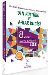 Karekök Yayınları - Karekök Yayınları 8. Sınıf LGS Din Kültürü ve Ahlak Bilgisi Soru Bankası