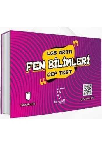 Karekök Yayınları 8. Sınıf LGS Fen Bilimleri Orta Cep Test