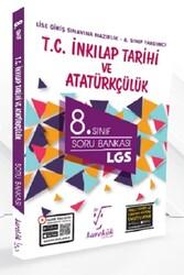 Karekök Yayınları - Karekök Yayınları 8. Sınıf LGS T.C. İnkılap Tarihi ve Atatürkçülük Soru Bankası