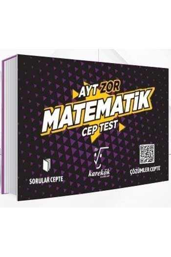 Karekök Yayınları AYT Matematik Zor Cep Test
