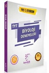 Karekök Yayınları - Karekök Yayınları TYT Biyoloji 50 Çözümlü Deneme
