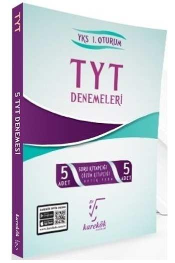 Karekök Yayınları TYT Çözümlü 5'li Deneme Seti