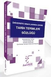 Karekök Yayınları - Karekök Yayınları Üniversite Sınavlarında Çıkmış Tarih Terimleri Sözlüğü