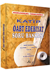 Katip Yayınları - Katip Yayınları 2016 ÖABT Türk Dili ve Edebiyatı Öğretmenliği Tamamı Çözümlü Soru Bankası