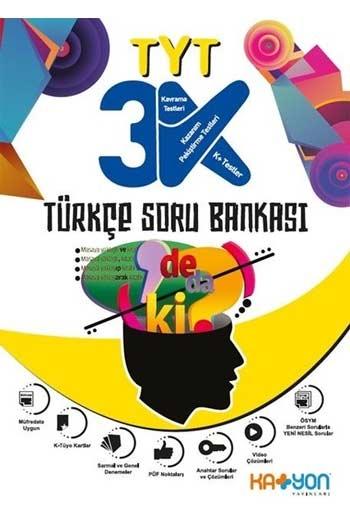 Katyon Yayınları TYT 3K Türkçe Soru Bankası