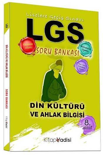 Kitap Vadisi Yayınları 8. Sınıf LGS Din Kültürü ve Ahlak Bilgisi Soru Bankası