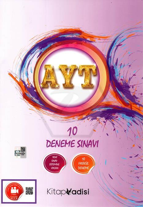 Kitap Vadisi Yayınları AYT 10 Lu Deneme Sınavı